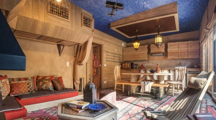 Avontuur-cottage Les Trois Forêts