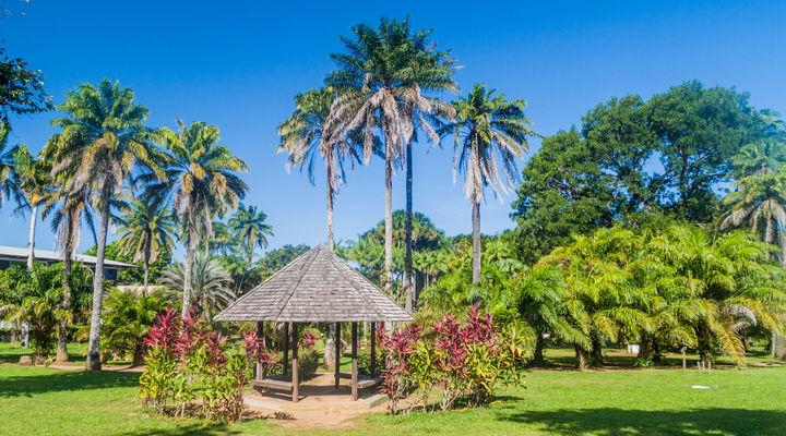 Cayenne, de hoofdstad van Frans-Guyana