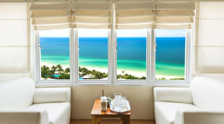 Hotelkamer met een mooi uitzicht