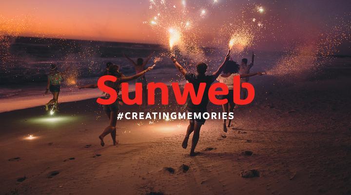 Het nieuwe logo van Sunweb