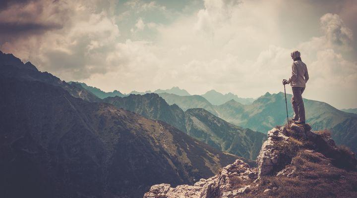 Wandeling in de bergen