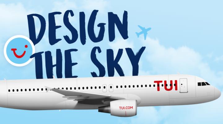 Design the Sky - ontwerpwedstrijd TUI
