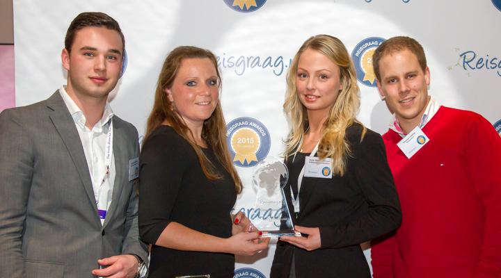 Bolderman met de Reisgraag Award