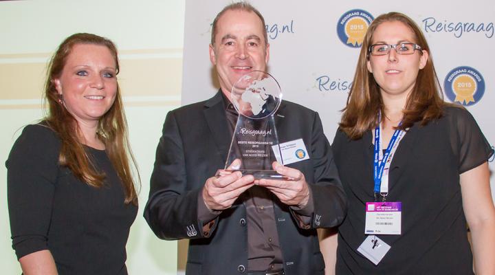 Van Nood Reizen met de Reisgraag award
