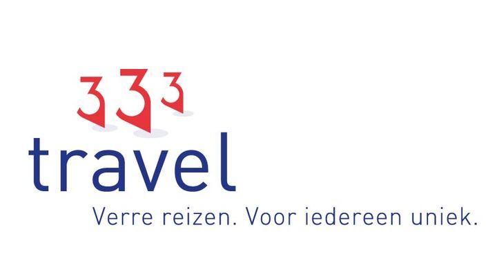 Het nieuwe logo van 333travel