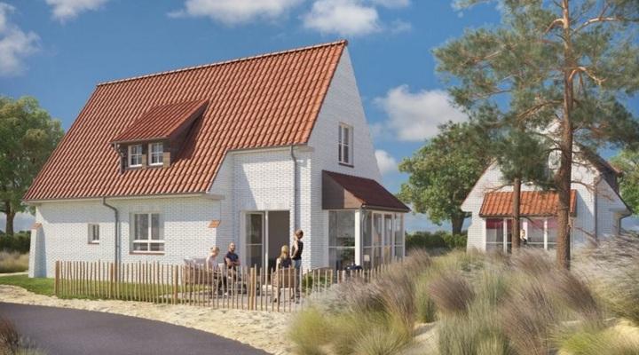 De splinternieuwe bungalows van Breeduyn Village
