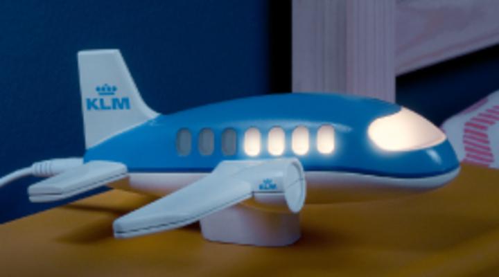 KLM Nachtjeslampje