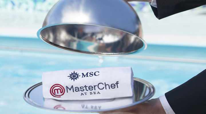 MasterChef aan boord van MSC Cruise