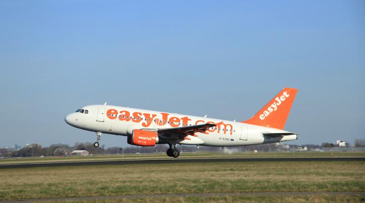 Vliegtuig van EasyJet
